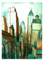 Another Skyscrapper by Bonom