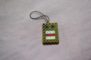 domo perler beads by kiri-chan1990