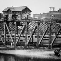 Pennsylvania Railroad bridge by jonniedee