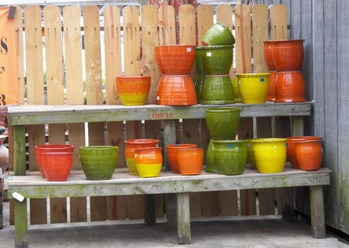 Southwestern Flair In Pots and Jars by kohaku-dono