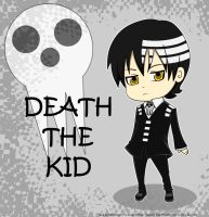 Death the Kid  CHIBI by Sakuraflower27