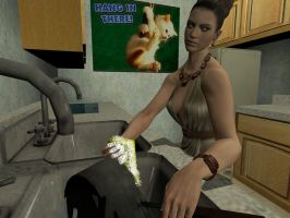 Excella The Housewife: Dishes by VG-MC