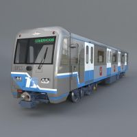 Train Series 760 ( 3d object ) by viiik33