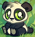 Baby Panda Bear, Cartoon Panda Cub by Dragoart