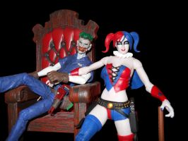 every joker has his harley by Archfiend-dux