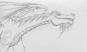 Dragon Sketch by Starfighterace-421