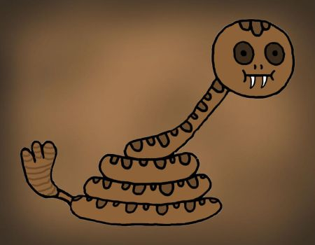 Poo Brain Snake by 15spearnicholas