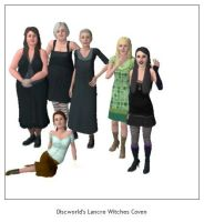 Sims 3 Lancre Witches Coven by kaoshoneybun