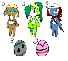 Keronian adoptions + mystery eggs [Closed] by Tarulimint