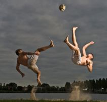 Footvolleyball-action by Ewoud57