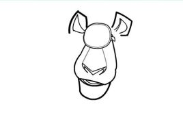 How to draw Alex from Madagascar 3 Part 2 by SketchHeroes