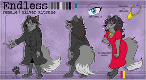 [COMM] Endless Reference Sheet by TheCynicalHound