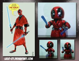 Deadpool Jedi Mighty Mugg by cjcenteno