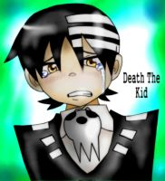 Death The Kid cry - Dracocetus by Dracocetus