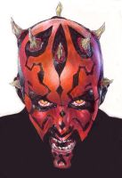 Darth Maul by affynity