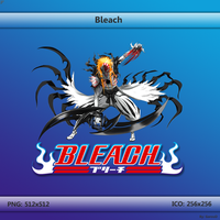 Bleach Folder Icon 256x256 by GarouD