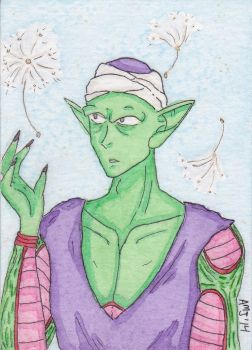 ATC - Piccolo Gazes at the Dandelions by LadyDorian