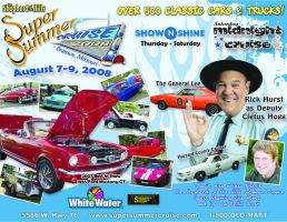 2008 Super Summer Cruise Flyer by yefeth