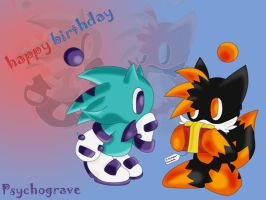Psychograve b-day pic by ishchn