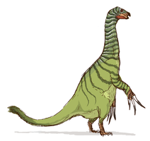 Therizinosaurus by nemo-ramjet