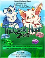 WA Costumers needed! The Great Hunt 2015! by MystikMeep