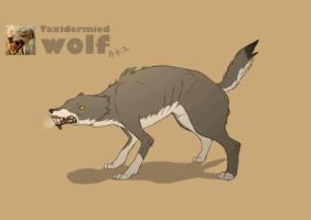 Wolf animation by LissiKete