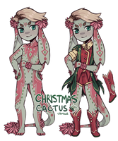 [WINNER DRAWN] Lalion - Christmas Cactus by Urmille