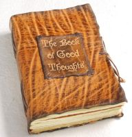 Diary of Good Thoughts by gildbookbinders