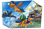 A Pony of Two Duties by BuizelCream