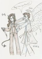 SPN - Megstiel by Starshinesoldier