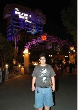 Halloween Time 2007 at Tower of Terror by CrimsonTuba1069
