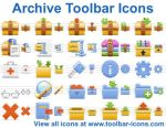 Archive Toolbar Icons by yourmailkept