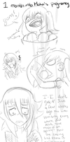 .::CroMa::. 1 Month into Maka's Pregnancy by SakiCakes