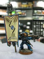 Standard bearer by vanchet