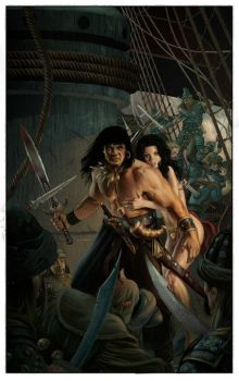 CONAN ROAD TO KINGS COVER 1 by Doug-Wheatley
