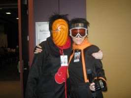 Obito and Tobi by Obito--Uchiha