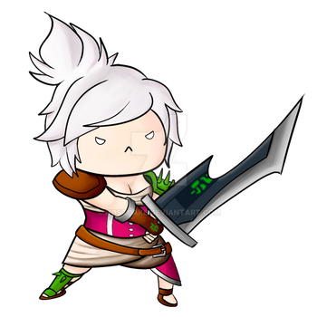 Riven Chibi by Hostcake