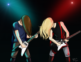 Bang Your Head by CatTheNinja