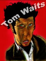 Tom Waits by killmeded
