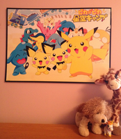 my OTHER Pokemon poster by PartyRockingPikachu