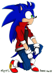 Sonic - 10 YL by Blue--Blur