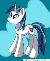 30 min challenge: Shining Armor R63 by WolfyOmega