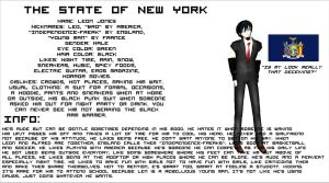 Hetalia OC: The State of New York by 0xWhaii