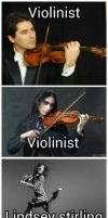 theres violinist and then theres lindsey by jxp1234