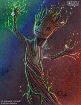 Get Your GROOT On!! - Baby Groot by The-Art-of-Ravenwolf