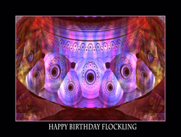 happy birthday Flockling by fraterchaos