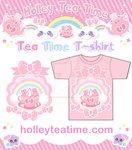 Holley Tea Time T-shirt by miemie-chan3