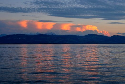 Bodensee sunset 1 by wildplaces
