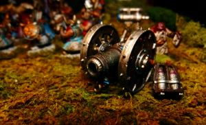 Dwarf Cannon by Teuril