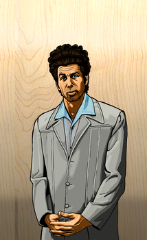 Kramer Painting Destined To Be On A Skateboard by Garrenh